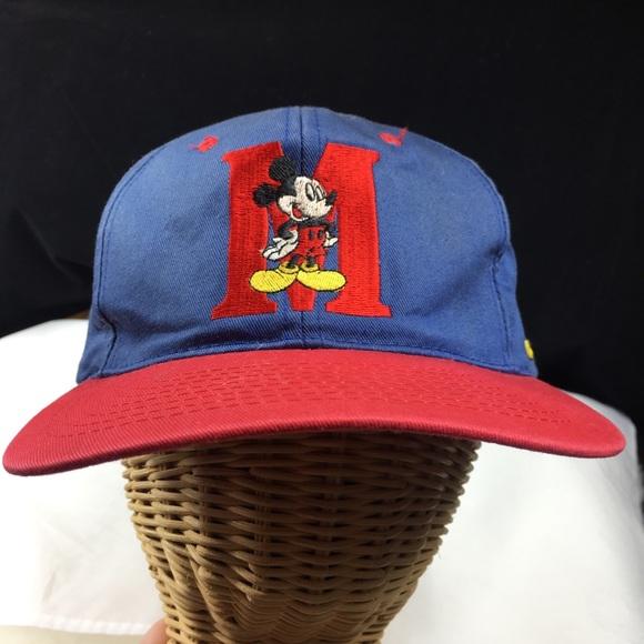 Disney Other - Vintage 90s Mickey Mouse Disney Snapback Cap